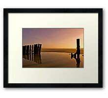 Beach, Cork, Ireland Framed Print