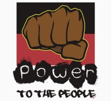 Power to the People [-0-] Kids Tee