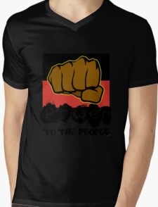 Power to the People [-0-] Mens V-Neck T-Shirt