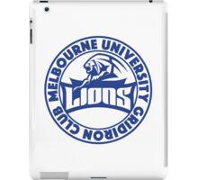 MUGC Junior Lions - Seal iPad Case/Skin