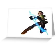ezreal / nottingham Greeting Card
