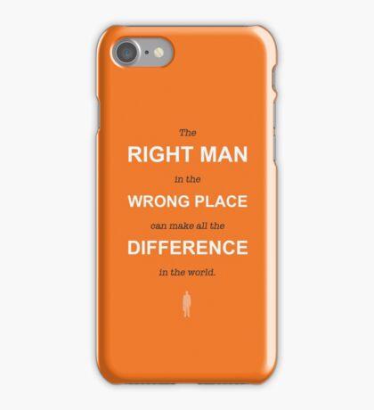 Half-life 2 G-man quote iPhone Case/Skin