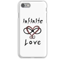 Infinite Love Typography iPhone Case/Skin