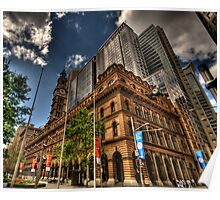 Old & New - GPO Building, Martin Place Sydney - The HDR Experience Poster