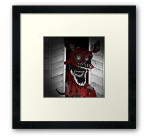 Five Night At Freddy's 4 Nightmare Foxy Framed Print