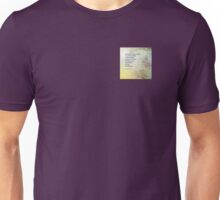 Serenity Prayer Boulder and Butterfly Bush Unisex T-Shirt