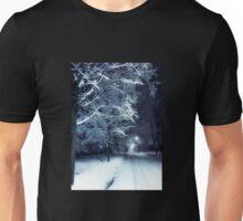 Peaceful Winter Night Unisex T-Shirt