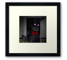 Five Night At Freddy's 4 Nightmare Bonnie Framed Print