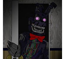 Five Night At Freddy's 4 Nightmare Bonnie Photographic Print