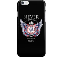 Never Underestimate The Power Of Bilbo - Tshirts & Accessories iPhone Case/Skin