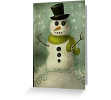 Almost Time for Snowmen Greeting Card