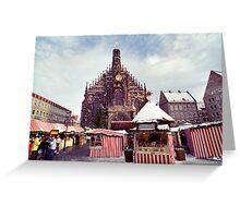 Nuremberg Christkindlesmarket Greeting Card
