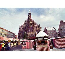 Nuremberg Christkindlesmarket Photographic Print