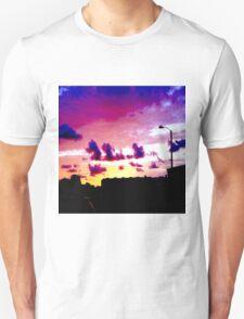 Edge of Car Silo Unisex T-Shirt