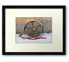 'Wheelie' Wonderful Christmas time! Framed Print