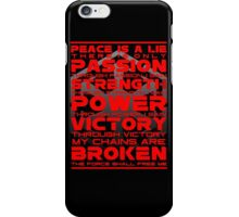 Sith Code iPhone Case/Skin