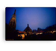 Christkindles-Market in Nuremberg Canvas Print