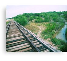 The Tracks Canvas Print