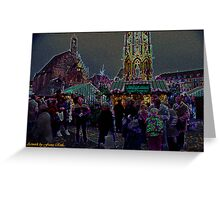 Nuremberg Christkindles-Market Greeting Card