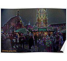 Nuremberg Christkindles-Market Poster