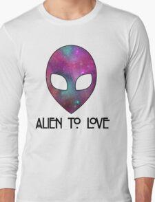 Alien to Love - PURPLE Long Sleeve T-Shirt