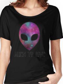Alien to Love - PURPLE Women's Relaxed Fit T-Shirt