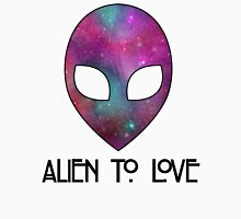 Alien to Love - PURPLE Unisex T-Shirt