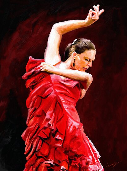 Flamenco by artbyjames
