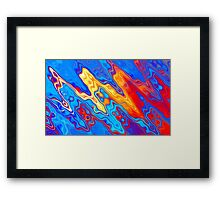 Humans pollute and destroy Framed Print