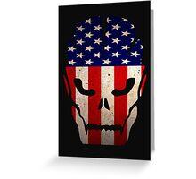american skull Greeting Card