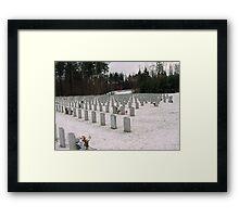 Winter Rest Framed Print