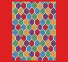 Retro Hexagons Baby Tee