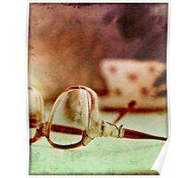Broken Glasses Poster