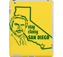 Stay Classy, San Diego iPad Case/Skin