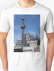 Waste Incineration Plant, Vienna Austria T-Shirt