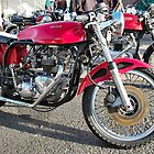 THE CLASSIC TRITON MOTORCYCLE.  by ronsaunders47