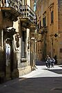 Riding Home - Lecce Italy by Debbie Pinard