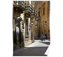 Riding Home - Lecce Italy Poster