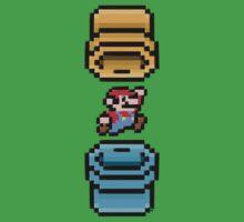 Super Mario Portal Baby Tee