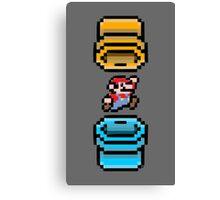 Super Mario Portal Canvas Print