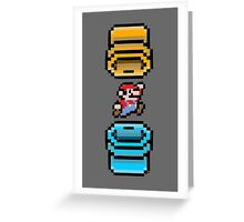 Super Mario Portal Greeting Card