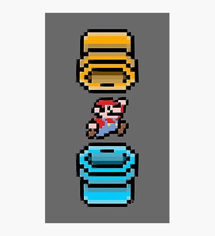 Super Mario Portal Photographic Print