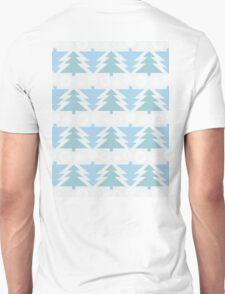 Blue Christmas Trees T-Shirt