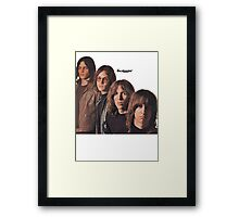 Iggy Pop The Stooges T-Shirt Framed Print