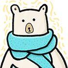 Snow Bear by aileenswansen