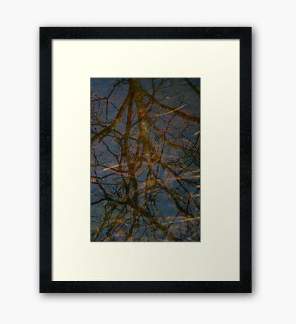 Depth & Height Framed Print