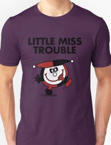 Harley Quinn - Little Miss Trouble T-Shirt