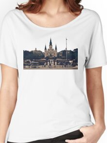 New Orleans Jackson Square Women's Relaxed Fit T-Shirt