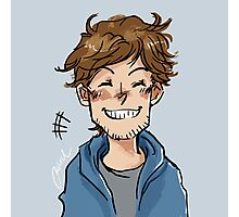 Grinning Louis Photographic Print
