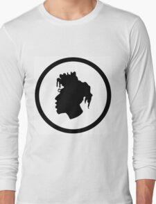Black Head Logo Long Sleeve T-Shirt